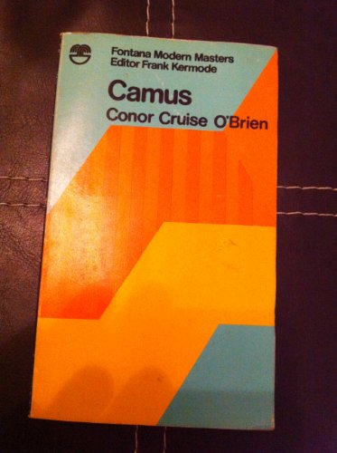 9780006322542: Camus