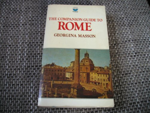 9780006323105: The Companion Guide to Rome (Companion Guides)