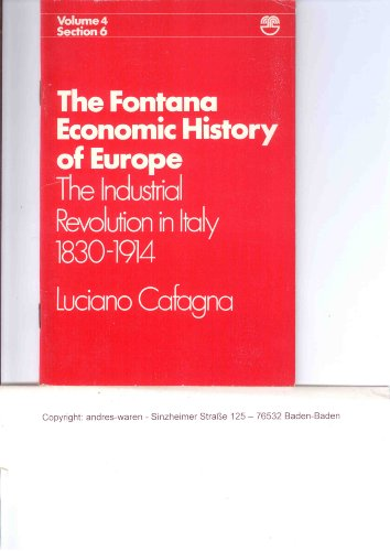 9780006324256: The Industrial Revolution in Italy 1830-1914