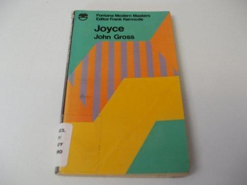 9780006324386: Joyce (Modern Masters)