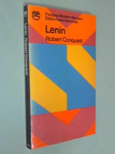 9780006326168: Lenin (Modern masters)