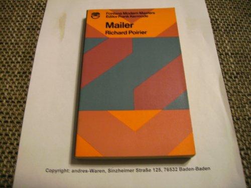 9780006326175: Mailer (Modern Masters)