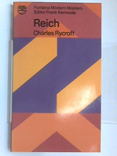 9780006326182: Reich (Modern Masters)