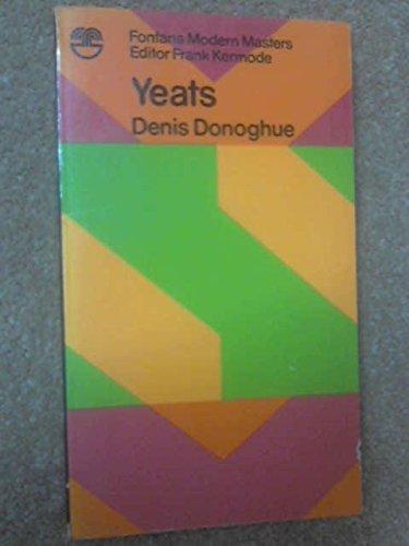 9780006326199: Yeats (Modern Masters)