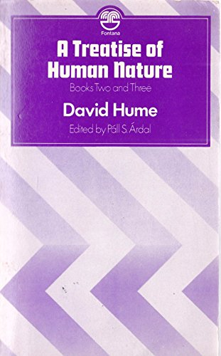 Treatise of Human Nature: Bk. 2 &: Hume, David /