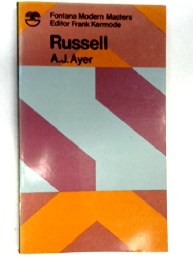 9780006327455: Russell's Logical Atomism (Fontana philosophy classics)