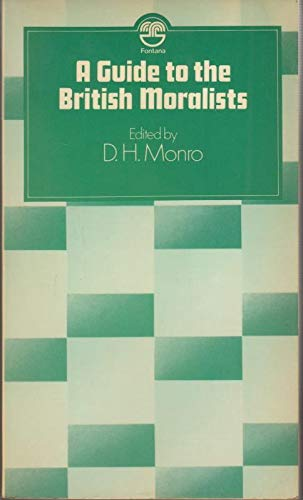 9780006327462: Guide to British Moralists (Fontana philosophy classics)