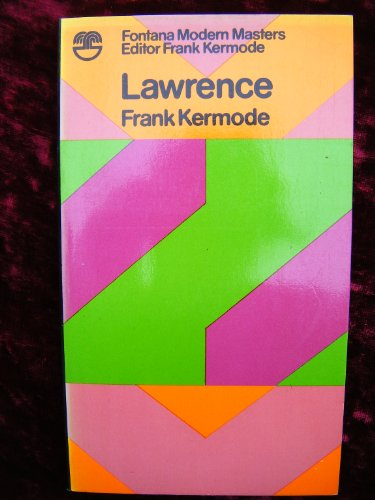9780006328469: Lawrence (Modern Masters S.)