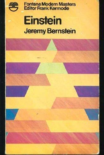 Einstein (Modern Masters): Bernstein, Jeremy