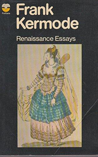 9780006331681: Renaissance Essays
