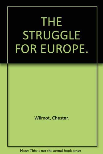 9780006333005: The Struggle for Europe