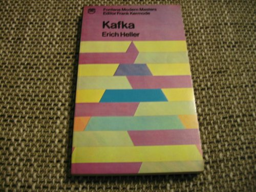 9780006333333: Kafka (Modern Masters)