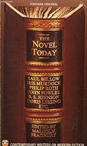 9780006333715: The Novel today: Contemporary writers on modern fiction