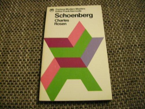 9780006335580: Schoenberg (Modern Masters)