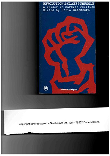 9780006336129: Revolution and Class Struggle: Reader in Marxist Politics