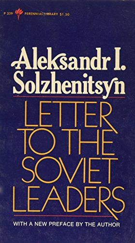 9780006336372: Letter to Soviet Leaders