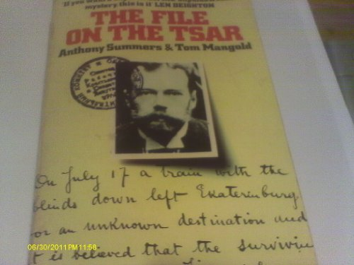 9780006338260: The File on the Czar