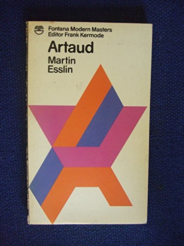 9780006338314: Antonin Artaud: The Man and His Work