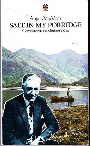 9780006338468: SALT IN MY PORRIDGE: CONFESSIONS OF A MINISTER'S SON.
