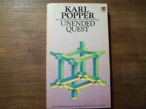 9780006341161: Unended Quest: An Intellectual Autobiography