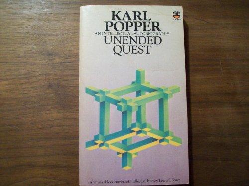 9780006341161: Unended Quest: An Intellectual Autobiography