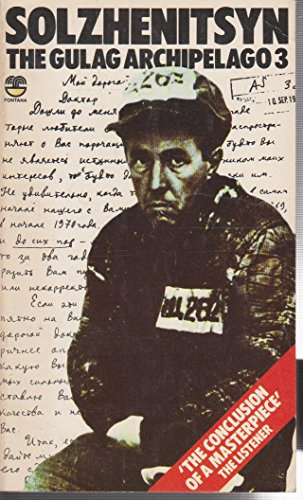 9780006341604: The Gulag Archipelago: v. 3 (Fontana)