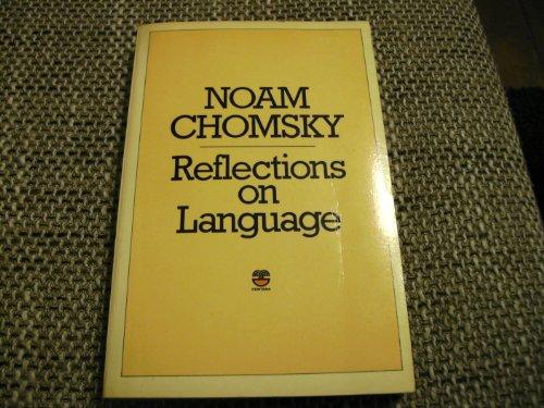 9780006342991: Reflections on Language