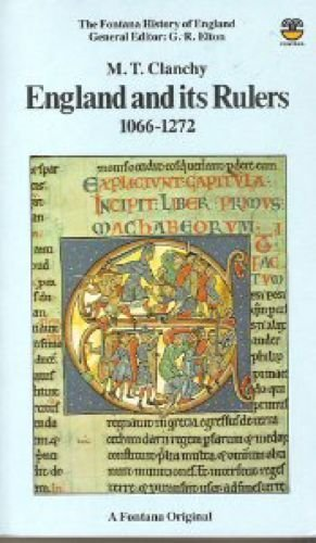 9780006351580: England and Its Rulers, 1066-1272: Foreign Lordship and National Identity