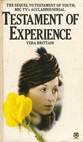 9780006361862: Testament of Experience: An Autobiographical Study of the Years 1925-50
