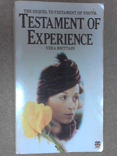 9780006361862: Testament of Experience