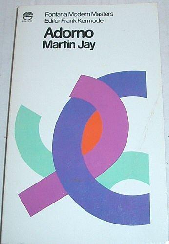 9780006362876: Adorno (Modern Masters)