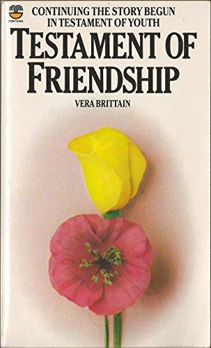 9780006363538: Testament of Friendship