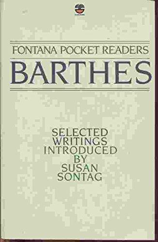 9780006366454: Barthes : Selected Writings (Fontana Pocket Readers)