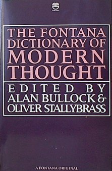 9780006367406: The Fontana Dictionary of Modern Thought