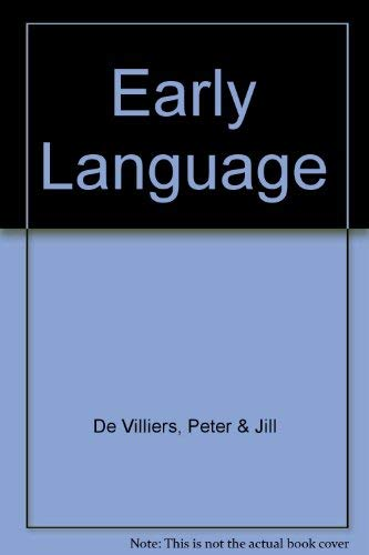 9780006367864: Early Language