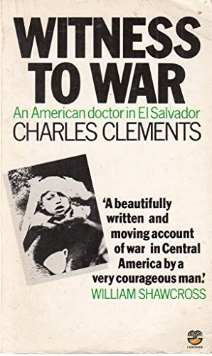 9780006369400: Witness to War: American Doctor in El Salvador