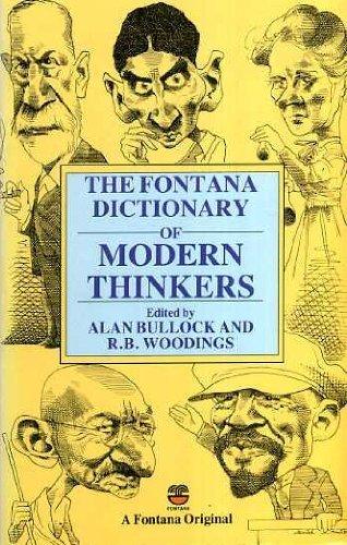 9780006369653: Fontana Dictionary of Modern Thinkers