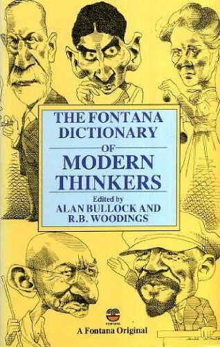 9780006369653: Fontana Dictionary of Modern Thinkers