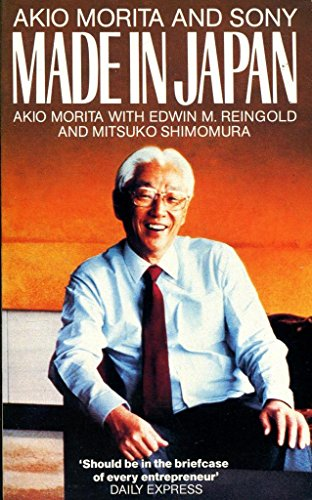 9780006372349: Made in Japan: Akio Morita and Sony
