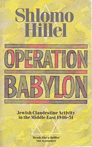9780006372714: Operation Babylon