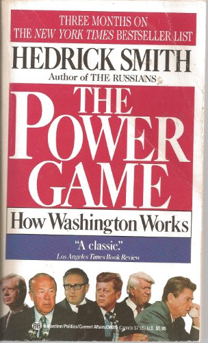 9780006374121: The Power Game: How Washington Works