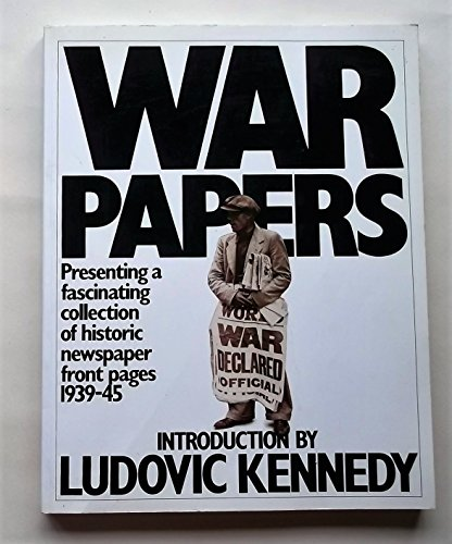 9780006374763: War Papers