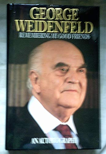 9780006376477: Remembering My Good Friends: An Autobiography