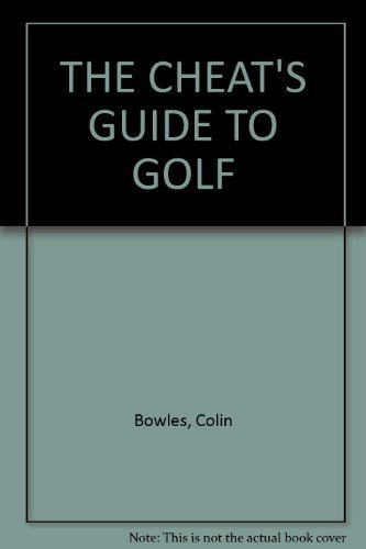 9780006377863: Cheat's Guide to Golf