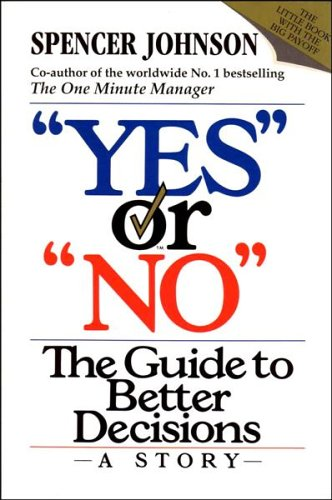 "9780006379270: ""Yes"" or ""No"": The guide to better decisions"
