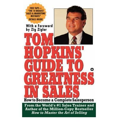 9780006382287: Tom Hopkins' Guide to Greatness in Sales: How to Become a Complete Salesperson