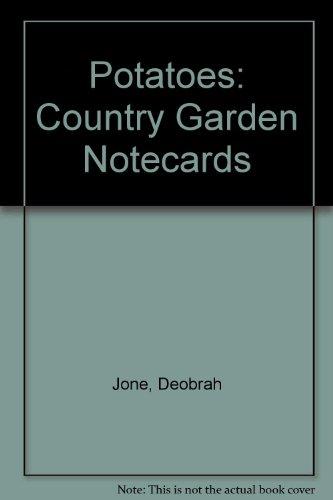 9780006383147: Potatoes: Country Garden Notecards