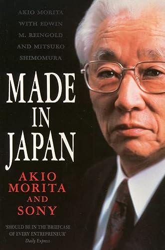 9780006383420: Made in Japan: Akio Morita and Sony