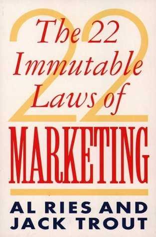 9780006383451: 22 Immutable Laws of Marketing