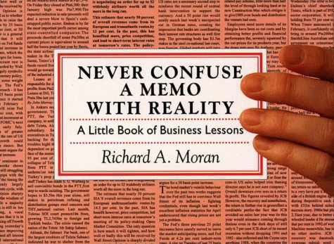 9780006383956: Never Confuse a Memo With Reality: A Little Book of Business Lessons